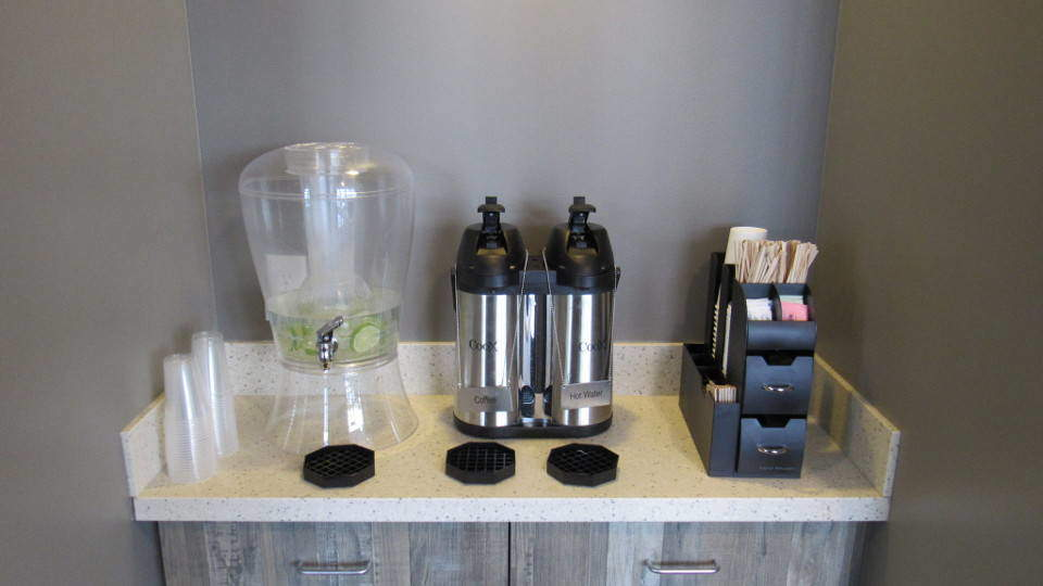 Clarity Dentistry Coffee Station