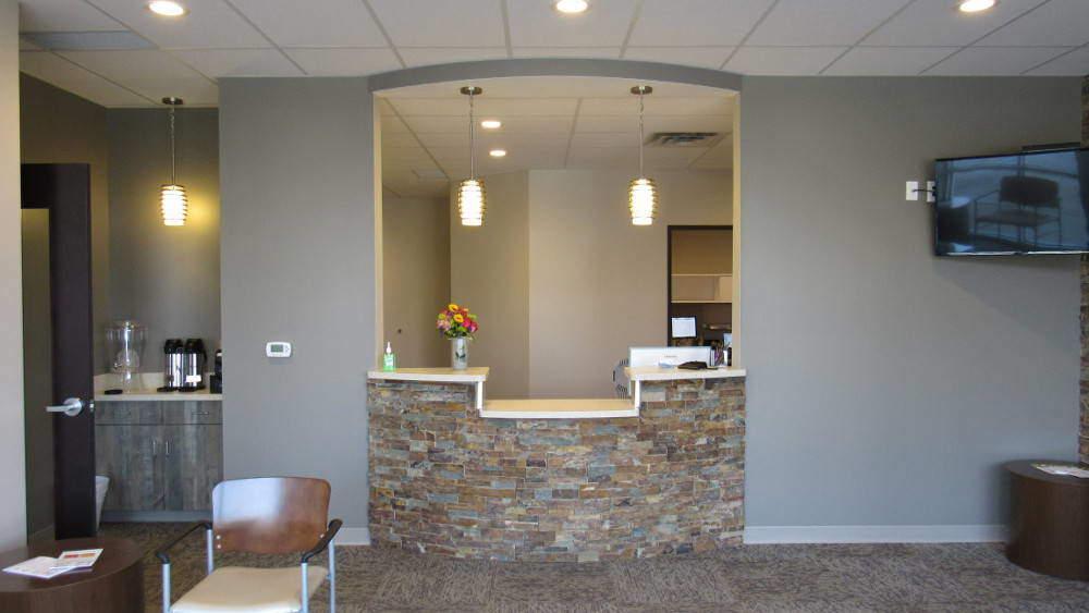 Clarity Dentistry Reception Desk